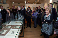 Opening tentoonstelling 'Koppen boven water - 500 jaar bescherming tegen het water' in het Hannemahuis in Harlingen.