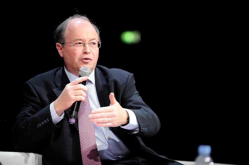 Conférence organisée par Total et BFM Business sur les perspectives internationales de la Transition Energétique.