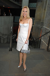IMOGEN LLOYD WEBBER at the Roundhouse Rock and Roll Circus - an evening to raise funds for the Roundhouse's continued delivery of projects and facilities for young people, held at The Roundhouse, Chalf Farm Road, London on 12th June 2008.<br />