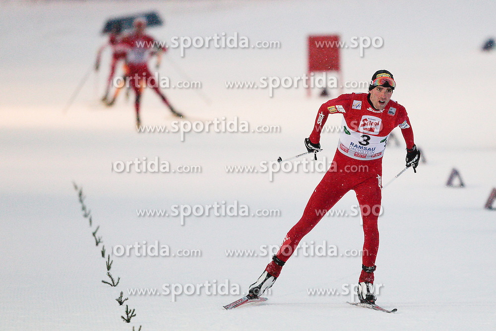 15.12.2012, Nordische Arena, Ramsau, AUT, FIS Nordische Kombination Weltcup, Gundersen, Cross Country, im Bild Moan Magnus (NOR) during Cross Country of FIS Nordic Combined World Cup, Gundersen at the Nordic Arena in Ramsau, Austria on 2012/12/15. EXPA Pictures © 2012, EXPA/ Federico Modica