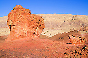 Natural Rock formations,Timna natural and historic park, Israel, The Timna Valley is located in the southwestern Arava, some 30 km. north of the Gulf of Eilat.