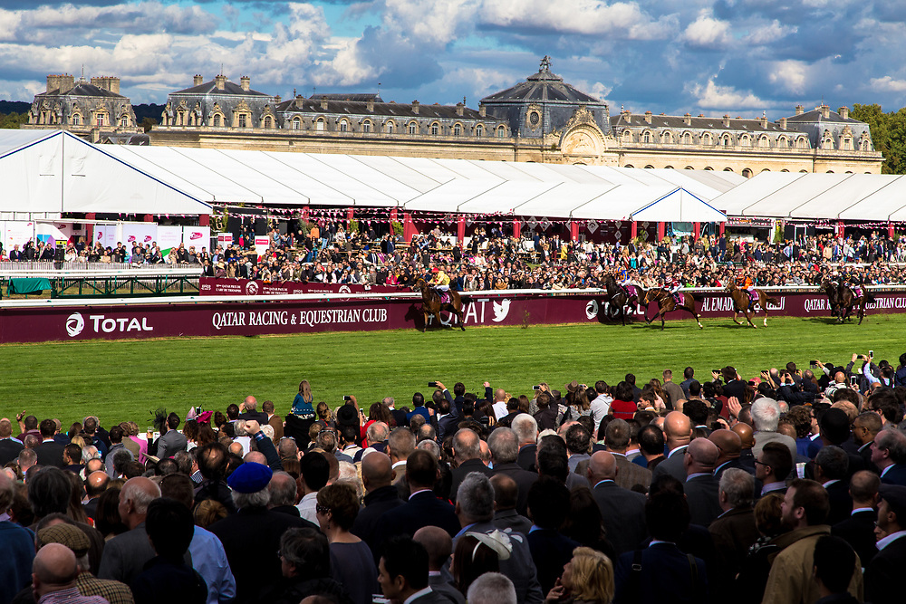 Grand Prix Arc de Triomphe 2016.  Chantilly, France.          © Daniel Barreto Mezzano