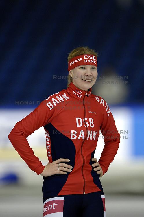 09-12-2006 MARATHONSCHAATSEN: 10E ESSENT CUP DAMES: HEERENVEEN <br /> Elma de Vries DSB<br /> &copy;2006-WWW.FOTOHOOGENDOORN.NL