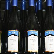 Bottles of the 2007 Ryan's Daughter Summit Estate Pinot Noir