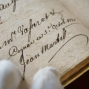 Signature of Jean Martell who founded  the region's oldest great house.Martell works with 1,200 suppliers across the Cognac region and supplies its luxury spirits around the world, especially in the USA and China.In 1715, Jean Martell, a young merchant originally from Jersey, created his own trading business at Gatebourse in Cognac, on the banks of the Charente River, and thus founded one of the very first cognac houses. Martell used grapes from the vineyards in the Borderies subregion, and used Tronçais oak for its casks, this made a combination that resulted in an exceptionally smooth cognac.