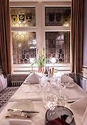 Switzerland, Zurich: room in the Zunfthaus zur Waag restaurant