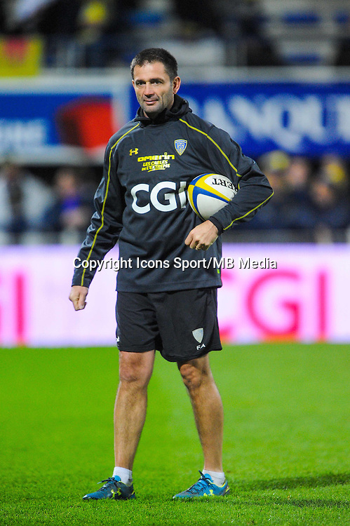 Franck AZEMA  - 20.12.2014 - Clermont / Castres - 13eme journee de Top 14 -<br /> Photo : Jean Paul Thomas / Icon Sport