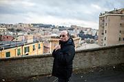 30 Gennaio 2016, Genova, Italia - Abdulkedir Kazemi, 59 anni padre di Farid Kazemi, 33 anni.