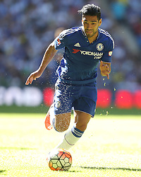 Radamel Falcao of Chelsea - Mandatory byline: Paul Terry/JMP - 07966386802 - 02/08/2015 - Football - Wembley Stadium -London,England - Arsenal v Chelsea - FA Community Shield
