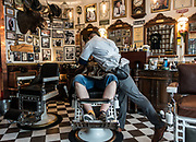 Stavanger, Stylish Barber shop, the Fevang Brothers Barbershop