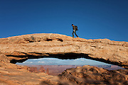 Mesa Arch at Canyonlands National Park Utah