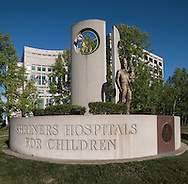Shriners Children's Hospital, Sacramento California. April 14, 2016.