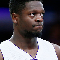 26 March 2016: Los Angeles Lakers forward Julius Randle (30) is seen during the Portland Trail Blazers 97-81 victory over the Los Angeles Lakers, at the Staples Center, Los Angeles, California, USA.