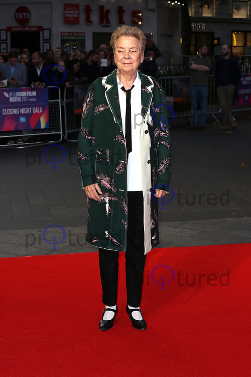 Sandy Martin, Three Billboards Outside Ebbing, Missouri - BFI LFF Closing Gala, Leicester Square, London UK, 15 October 2017, Photo by Richard Goldschmidt