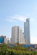Israel, Ramat Gan, modern High rise building Diamond exchange building