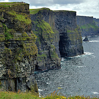 Southern Vista of Cliffs of Moher near Liscannor, Ireland<br />