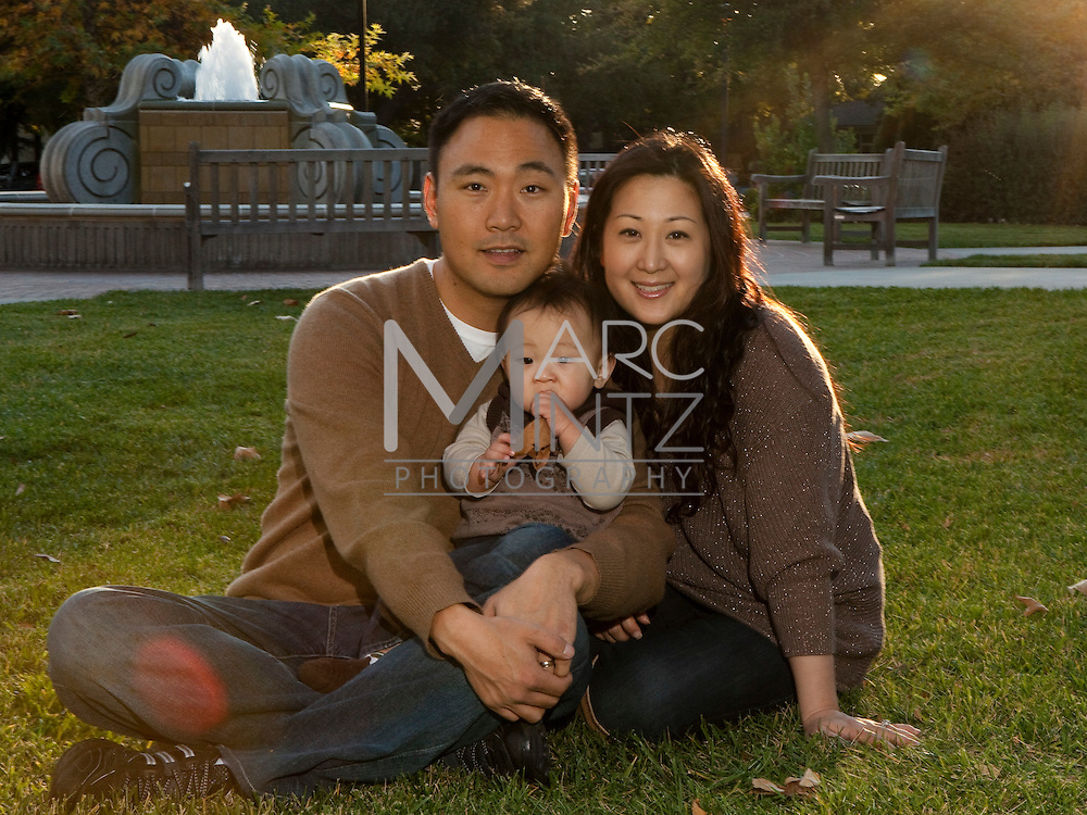 The Chos Family Portrait, Claremont, California