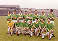 All-Ireland Football Final 1966. 1916 Commemoration Pictures of teams in Croke Park. (Part of Independent Newspapers Ireland/NLI Collection)