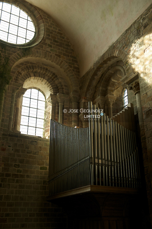 Abadia del Mont Saint Michel..Abbey of Mont Saint Michel