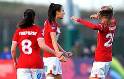 Rosella Ayane of Bristol City celebrates her goal- Mandatory by-line: Nizaam Jones/JMP - 27/01/2019 - FOOTBALL - Stoke Gifford Stadium - Bristol, England - Bristol City Women v Yeovil Town Ladies- FA Women's Super League 1