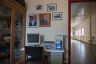 Sala Consilina, 10/02/2015: Stanza del Procuratore, Palazzo di Giustizia chiuso nel settembre 2013 a causa della spending review.