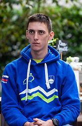 Bostjan Murn during press conference of Slovenian national cycling team before world championship in Yorkshire, Great Britain. Press conference held in Dvor Jezersek, on 17th of September, 2019, Kranj, Slovenia. Photo by Grega Valancic / Sportida