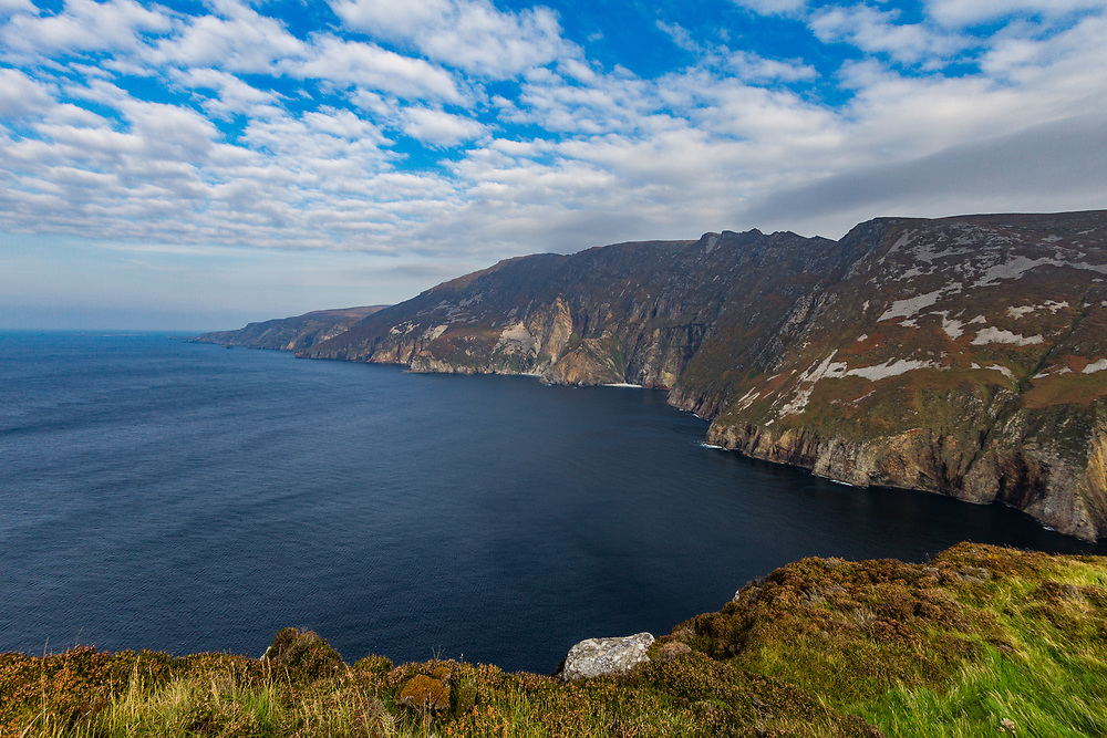 At 601 metres, Slieve League has some of the highest sea cliffs in Ireland.