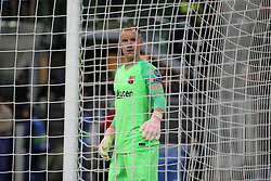 November 6, 2018 - Milan, Milan, Italy - Marc-André Ter Stegen #1 of FC Barcelona during  the UEFA Champions League group B match between FC Internazionale and FC Barcelona at Stadio Giuseppe Meazza on November 06, 2018 in Milan, Italy. (Credit Image: © Giuseppe Cottini/NurPhoto via ZUMA Press)