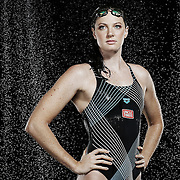 BRISBANE, AUSTRALIA - FEBRUARY 23:  Australian Swimmer Cate Campbell poses during a portrait session on February 23, 2016 in Brisbane, Australia.  (Photo by Chris Hyde/Getty Images) *** Local Caption *** Cate Campbell