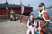Yeosu, Admiral Yi's Turtle Ship replica and museum.