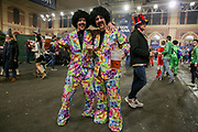 Fans in fancy dress ahead of the 2019 William Hill World Darts Championship Final at Alexandra Palace, London, United Kingdom on 1 January 2019.