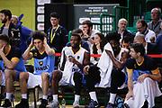 Panchina Cremona, Sidigas Avellino vs Vanoli Cremona, Poste Mobile Final 8 2018 Quarti di Finale, Lega Basket 2017/2018 Firenze 15 febbraio 2018 Nelson Mandela Forum