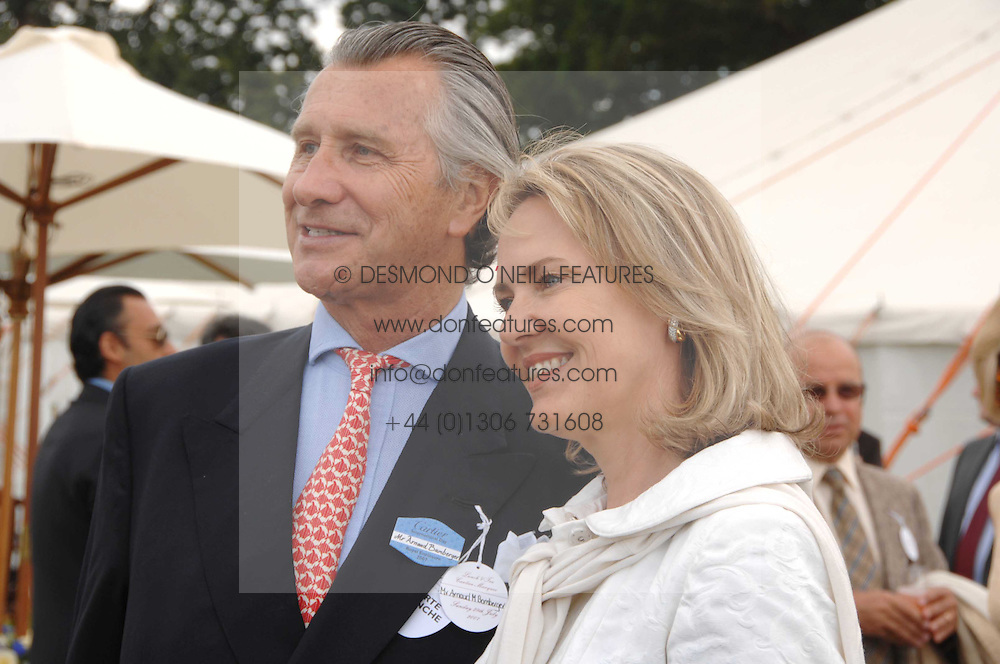 ARNAUD BAMBERGER MD of Cartier and his wife CARLA at the Cartier International polo at Guards Polo Club, Windsor Great Park on 29th July 2007.<br /><br />NON EXCLUSIVE - WORLD RIGHTS