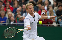 LONDON, ENGLAND - Thursday, June 23, 2011: Dmitry Tursunov (RUS) in action during the Gentlemen's Singles 2nd Round match on day four of the Wimbledon Lawn Tennis Championships at the All England Lawn Tennis and Croquet Club. (Pic by David Rawcliffe/Propaganda)
