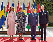 Princess Victoria & Prince Daniel With Jordanian Royals