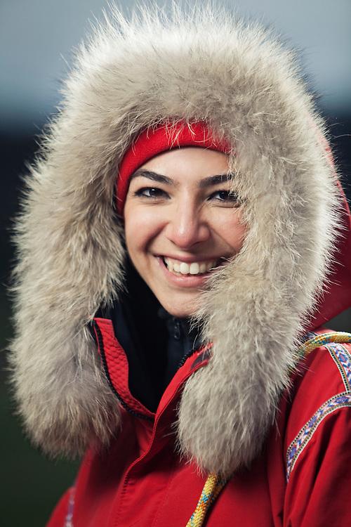 Elham Al-Qasimi, originally from Dubai, hopes to be the first Arabic woman to reach the North Pole