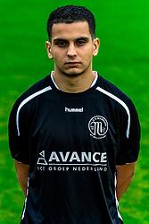 "Portret of Hamid Cortet of VV Maarssen . Photoshoot of the selection 2020-2021, sat 1 of VV Maarssen with the Corona rule ""1.5 meters away"" on 16 June 2020, sports park Daalseweide in Maarssen."