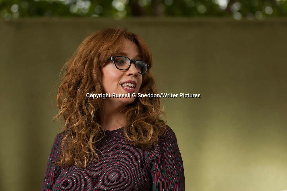 Erin Kelly at Edinburgh International Book Festival 2014 <br /> 22nd August 2014<br /> <br /> Picture by Russell G Sneddon/Writer Pictures<br /> <br /> WORLD RIGHTS