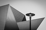 A view of the Denver Art Museum focusing on the angular architecture. This image is part of a personal photo project which features images that highlight geometrical patterns in architecture.
