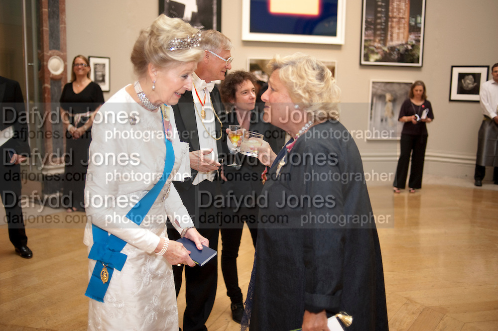 PRINCESS ALEXANDRA; ; DAME VIVIEN DUFFIELD, Royal Academy of Arts Annual dinner. Royal Academy. Piccadilly. London. 1 June <br /> <br />  , -DO NOT ARCHIVE-© Copyright Photograph by Dafydd Jones. 248 Clapham Rd. London SW9 0PZ. Tel 0207 820 0771. www.dafjones.com.