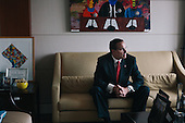 Portrait : DC Mayor Vincent Gray for the New York Times