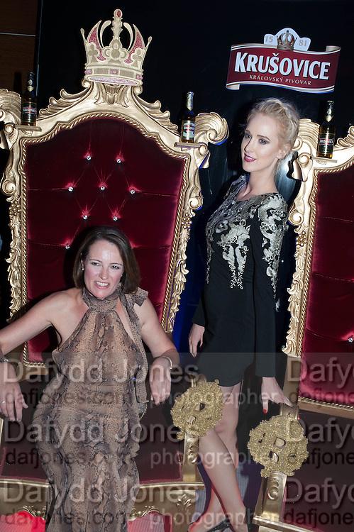 JULIA IREDALE; BRY PATRICKSON, 2013 Bar and Club awerds. Intercontinental. London. 4 June 2013