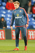 Sunderland midfielder Duncan Watmore during the Barclays Premier League match between Crystal Palace and Sunderland at Selhurst Park, London, England on 23 November 2015. Photo by Simon Davies.