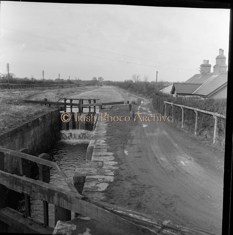 Royal Canal, Dublin.11.02.1961