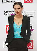 Ellie Rowsell, The Q Awards 2017 - Red Carpet Arrivals, Roundhouse, London UK, 18 October 2017, Photo by Brett D. Cove