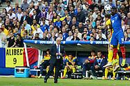 SAINT-DENIS, FRANÇA, 10.06.2016 - FRANÇA-ROMENIA - Bacary Sagnada França, durante partida com a Romênia, em partida válida pela 1ª rodada do grupo A da Eurocopa 2016, no Stade de France, em Saint-Denis, nesta sexta-feira (10). (PHOTO BRUNO FONSECA/BRAZIL PHOTO PRESS)