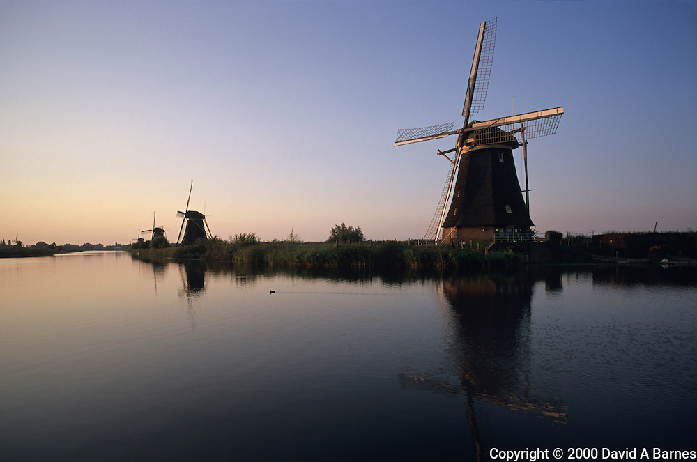 Windmills, Kinderdijk, The Netherlands