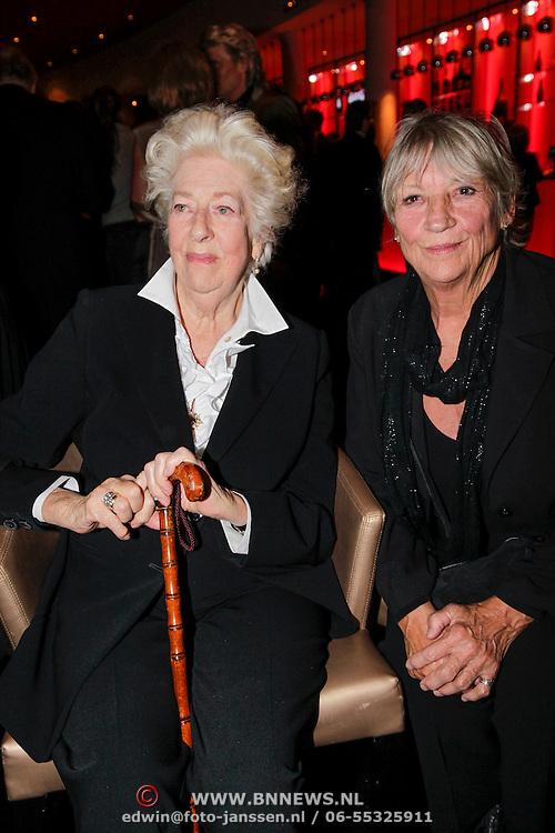 NLD/Amsterdam/20120923- Premiere musical De Jantjes, Ellen Vogel en Kitty Courbois