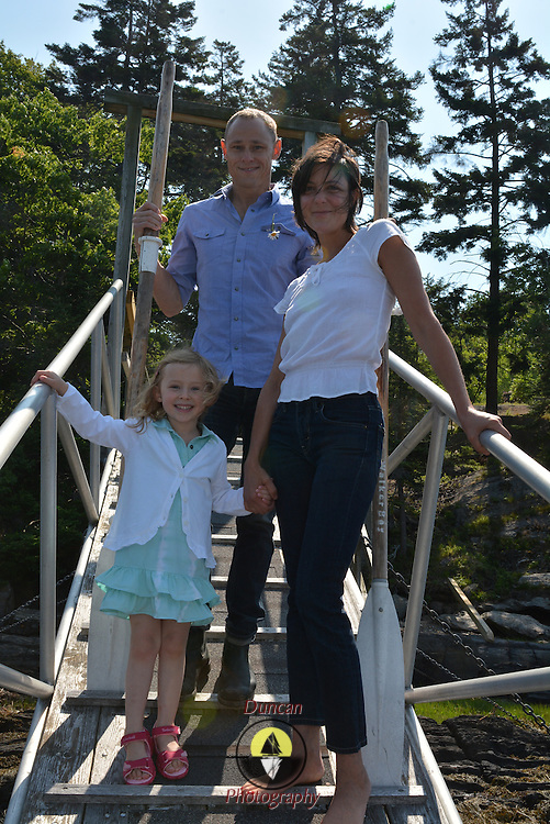 GEORGETOWN, Maine -- 6/30/14 -- Zike Family  portrait. DSC_2366<br /> Photo  ©2014 by Roger S. Duncan <br /> Released for all purposes to Zike Family