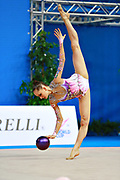 Veronica Bertolini was born in Sondrio October 19, 1995, she is an individual gymnast of the Italian team. She is five times the Italian rhythmic gymnastics champion until 2017.